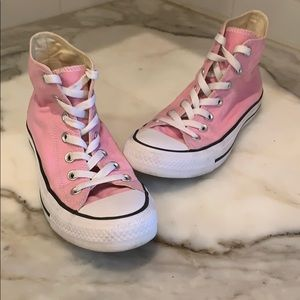 Converse pink high top Allstars